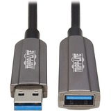 Tripp Lite U330F-15M-G1 Fiber Optic Extension Data Transfer Cable