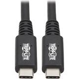 Tripp Lite USB4 40Gbps Cable (M/M)-USB-C, 8K 60 Hz, 100W PD Charging, Black, 31 in.(0.8 m)