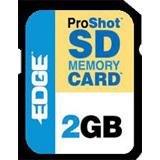 EDGE Tech 2GB ProShot Secure Digital Card -130x