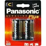 Panasonic Alkaline Plus AM-2PA - Battery 2 x C alkaline