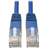 Tripp Lite 1ft Cat5e / Cat5 350MHz Molded Patch Cable RJ45 M/M Blue 1'