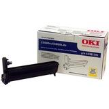 Oki Yellow Image Drum For C5500n and C5800Ldn Printers