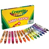 CRAYON,LARGE,16/ST,AST