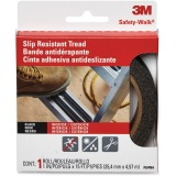 3M Safety-Walk Outdoor Tread, Black, 1-Inch by 180-Inch