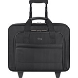 "Solo Classic Carrying Case (Roller) for 15.6"" Notebook, Accessories - Black"