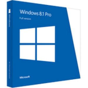 Microsoft Windows 8.1 Pro 64-bit - License and Media - OEM, Volume