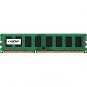 Crucial 2GB DDR3 PC3-12800 Unbuffered NON-ECC 1.5V 256Meg x 64