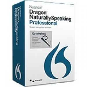 Nuance Dragon NaturallySpeaking v.13.0 Professional Wireless With Bluetooth Headset - 1 User