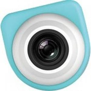 VuPoint Solutions Lifecam SDV-G857 Digital Camcorder - Full HD - Blue, Turquoise