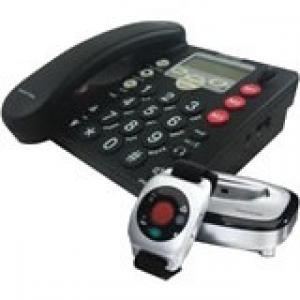 Amplicom PowerTel 765 Assure Responder DECT 6.0 Standard Phone