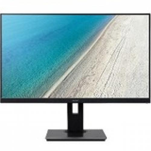 "Acer B277U 27"" WQHD LED LCD Monitor - 16:9 - Black"