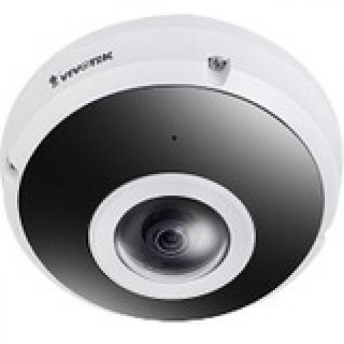 Vivotek FE9380-HV 5 Megapixel Outdoor HD Network Camera - Color, Monochrome - Fisheye