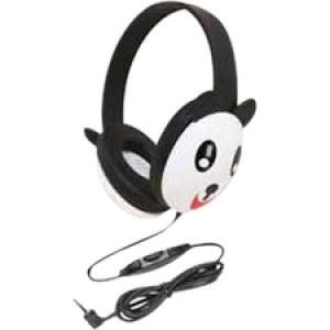 Califone Kids Stereo/Pc Headph Panda 3.5Mm Plug Via Ergoguys