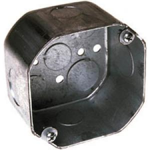 4IN OCTAGON BOX 2-1/8IN DEEP