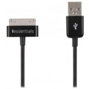 iEssentials Charge & Sync Data Cable For Apple iPod, iPhone, & iPAD