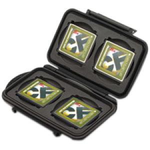 Pelican 0945 Memory Card Case - Polycarbonate Resin6 CompactFlash Card