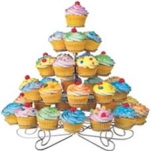 Wilton Cupcakes 'N More 38 Count Large Dessert Stand