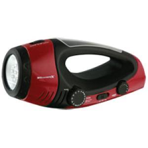WeatherX WF382R Weatherband Radio Flashlight with Lantern