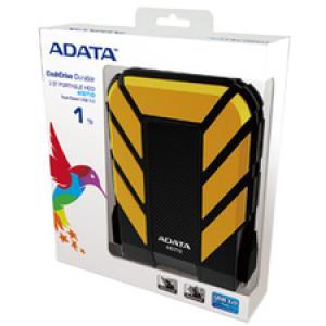 "Adata DashDrive HD710 AHD710-1TU3-CYL 1 TB 2.5"" External Hard Drive"