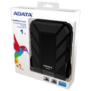 "Adata DashDrive HD710 AHD710-1TU3-CBK 1 TB 2.5"" External Hard Drive"