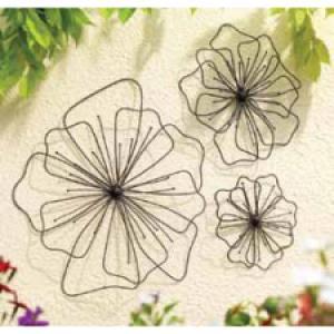 Gardman Poppy Wall Art Shape