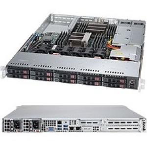 Supermicro SuperServer 1028R-WC1RT Barebone System - 1U Rack-mountable - Intel C610 Chipset - Socket LGA 2011-v3 - 2 x Processor Support - Black