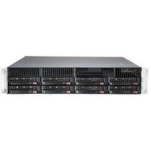 Supermicro SuperServer 6028R-TR Barebone System - 2U Rack-mountable - Intel C612 Express Chipset - Socket LGA 2011-v3 - 2 x Processor Support - Black