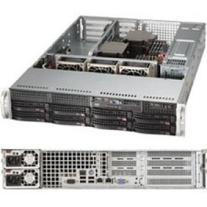 Supermicro SuperServer 6028R-WTRT Barebone System - 2U Rack-mountable - Intel C612 Express Chipset - Socket LGA 2011-v3 - 2 x Processor Support - Black