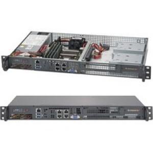 Supermicro SuperServer 5018D-FN4T Barebone System - 1U Rack-mountable - Socket BGA-1667 - 1 x Processor Support - Black