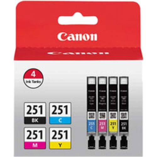 Canon CNM6513B004 6513B004 CLI-251 ChromaLife100 Ink
