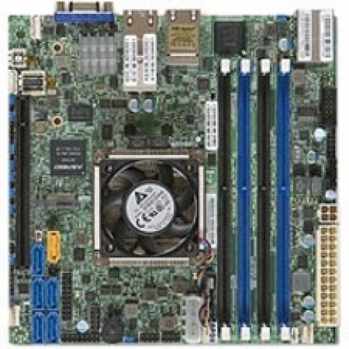 Supermicro X10SDV-TLN4F Server Motherboard - Intel Chipset - Socket BGA-1667 - Mini ITX