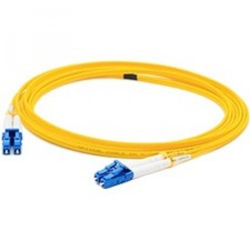 AddOn 10m ALC (Male) to LC (Male) Yellow OS2 Duplex Fiber OFNR (Riser-Rated) Patch Cable