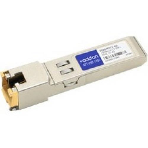 AddOn Intel E10GSFPTX Compatible TAA Compliant 100/1000/10000Base-TX SFP+ Transceiver (Copper, 30m, RJ-45)
