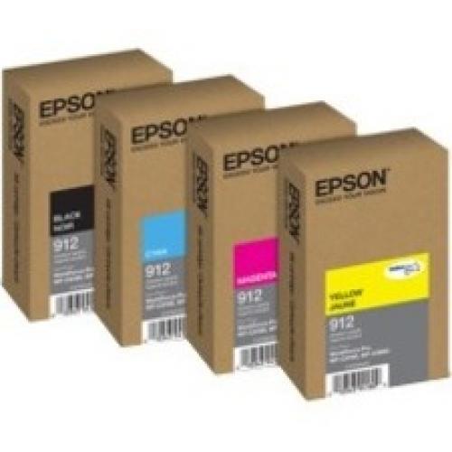 Epson DURABrite Pro 912 Original Ink Cartridge - Yellow