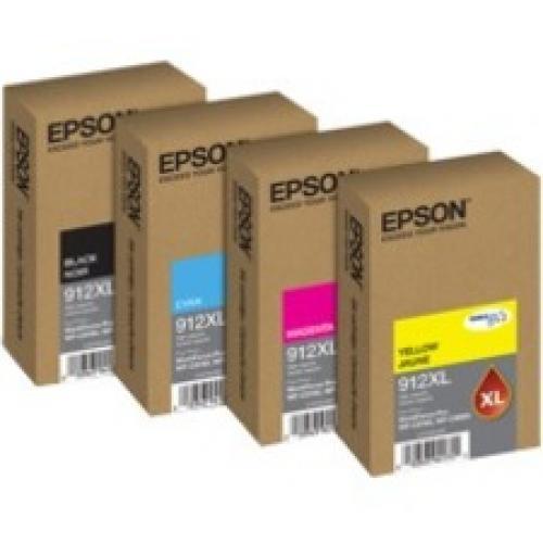 Epson DURABrite Pro 912XL Original Ink Cartridge - Cyan