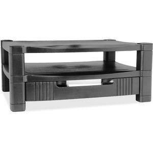 Kantek 2-Level Monitor Stand w/Drawer