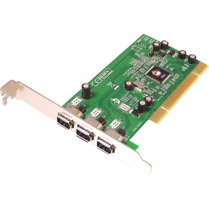 SIIG 3-port PCI 1394 FireWire Adapter