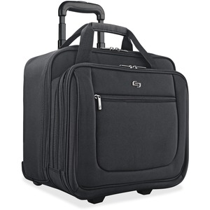"Solo Classic Carrying Case (Portfolio) for 17.3"" Notebook - Black"