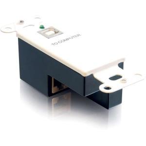 C2G USB 1.1 Superbooster Wall Plate - Transmitter