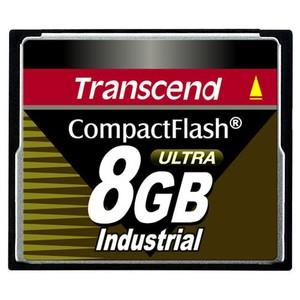 Transcend 8GB Ultra Speed Industrial CompactFlash (CF) Card