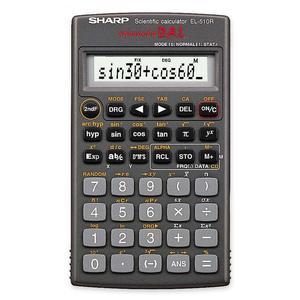 Sharp EL510RB Scientific Calculator