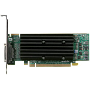 Matrox M9140-E512LAF M9140 Graphic Card - 512 MB DDR2 SDRAM - PCI Express x16
