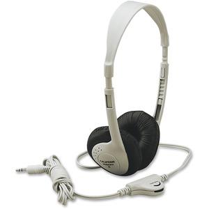 Califone Multimedia Stereo Headp Wired Beige Clr Via Ergoguys