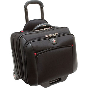 "SwissGear WA-7966-02F00 Carrying Case for 17"" Notebook - Black"