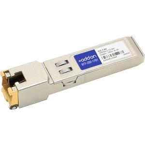 AddOn Cisco GLC-T Compatible TAA Compliant 1000Base-TX SFP Transceiver (Copper, 100m, RJ-45)
