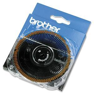 Brother 411 Brougham Typestyle Printwheel