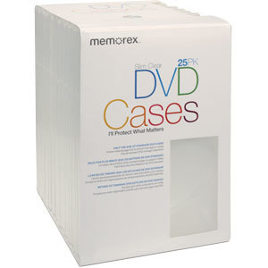 Memorex Slim Optical Disc Case
