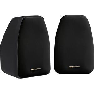 BIC America 3 1/2 in. 125-Watt 2-Way Compact Shielded Speaker-DV-32B
