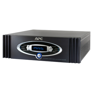APC by Schneider Electric S15BLK S Type Power Conditioner with Battery Backup