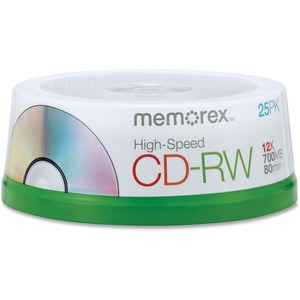 Memorex High Speed CD-RW Discs